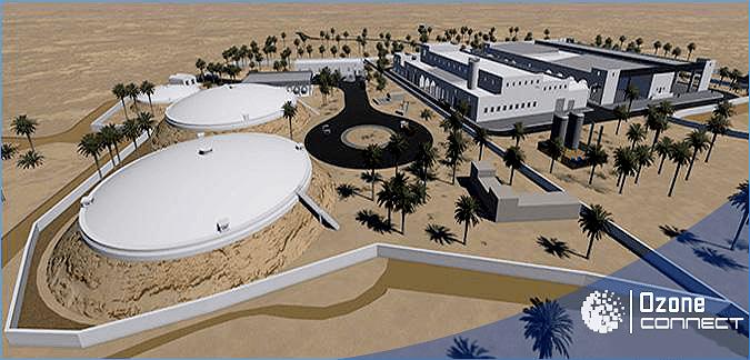 Dessalement de l'eau de mer de Djerba